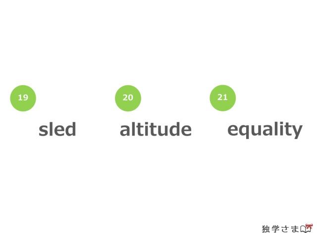 英単語、練習・確認問題3-1