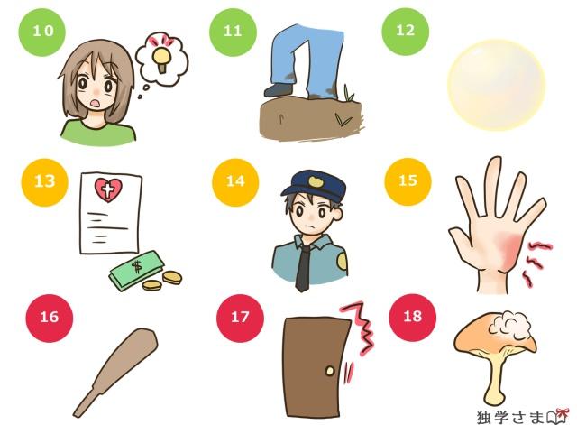 英単語練習、確認問題2-2