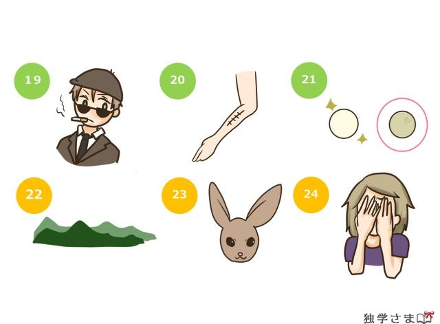 英単語練習、確認問題3-2